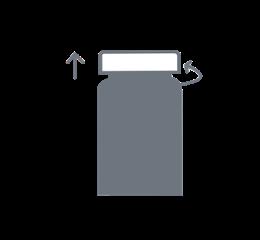 Depotage et transfert de produits visqueux et pateux