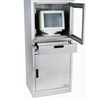 Mauble informatique inox