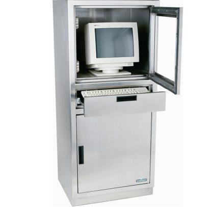 Mauble informatique inox