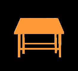 Tables et plans de travail