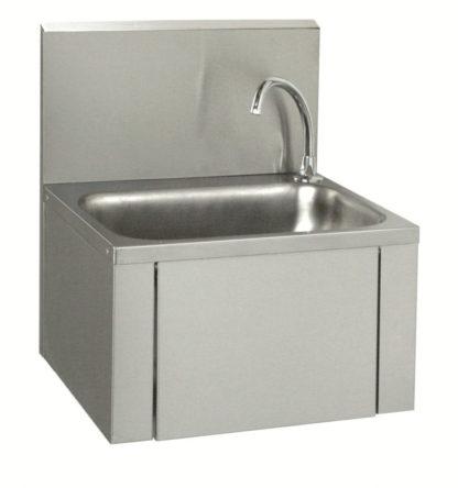 Lave-mains à panneau basculant